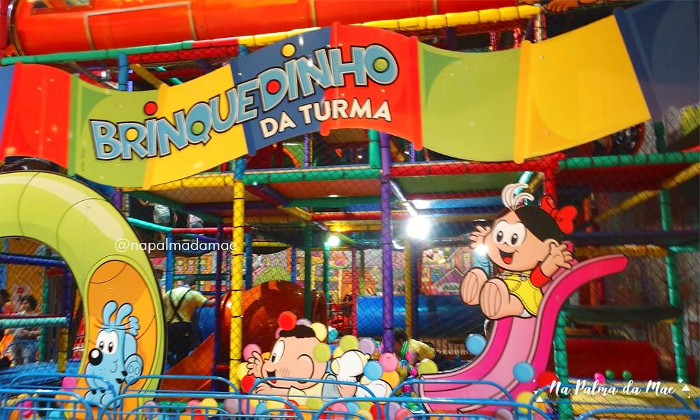 Brinquedo Parque da Mônica Para Crianças Pequenas
