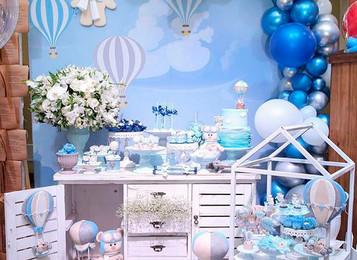 Festa Tema Urso Balão
