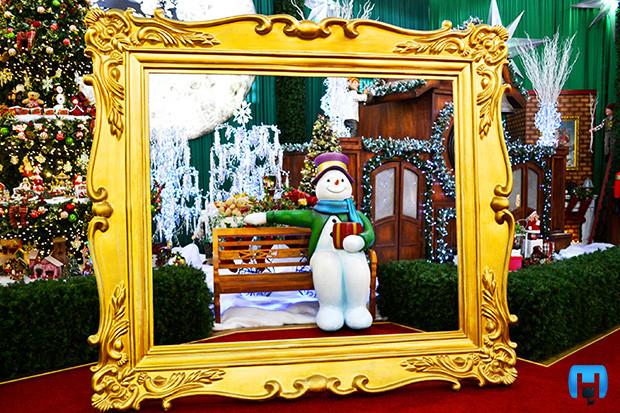 Festival de Natal em Holambra com Crianças