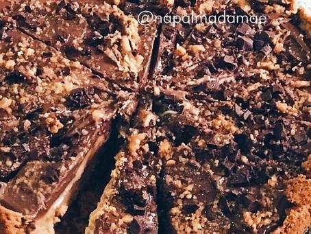 Receita: Torta de Brigadeiro de Paçoca com Ganache