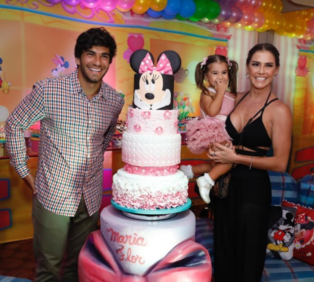 Festa Minnie Maria Flor