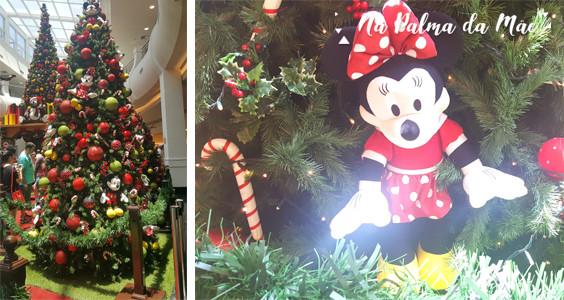Decoração de Natal da Disney Minnie