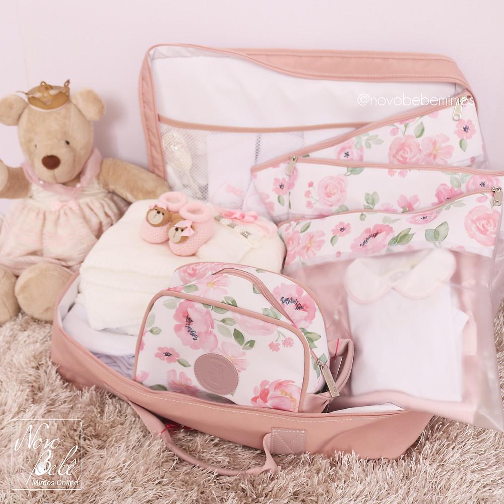 Coleção Flora Bolsa Masterbag Baby