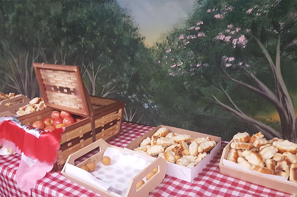 Café da Manhã com Masha e o Urso