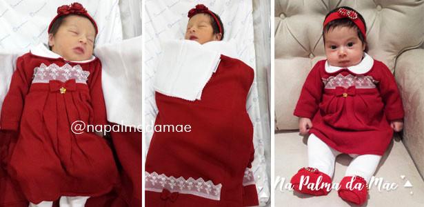 Saída de Maternidade Vermelha