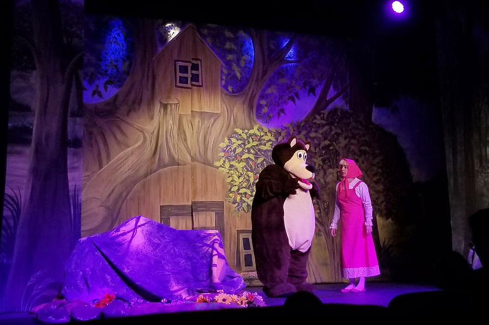 Teatro Masha e o Urso