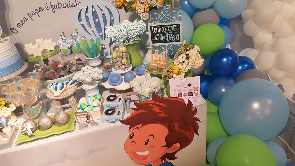 Decoração Festa Balão Mágico