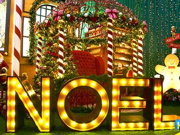 Noeland - Decoração de Natal em Holambra