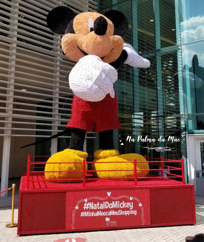 Mickey 7m Luzes de Natal Mooca Plaza Shopping