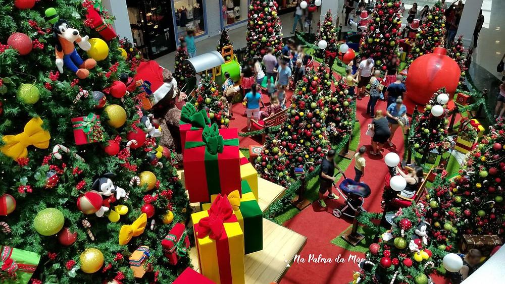 Decoração de Natal Disney Mooca Plaza Shopping