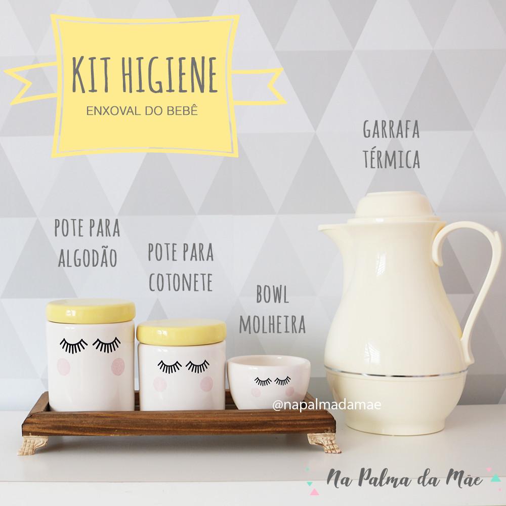 Kit Higiene Para que Serve Cada Item