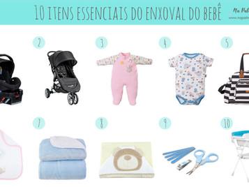 10 Itens Essenciais Para o Enxoval do Bebê
