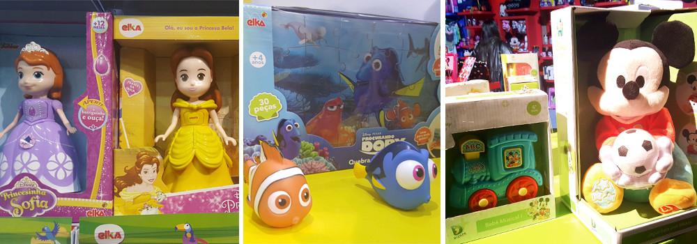 Brinquedos Disney