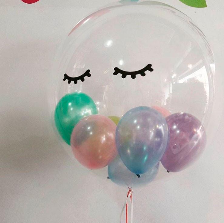 Balão com Gás Hélio Unicórnio