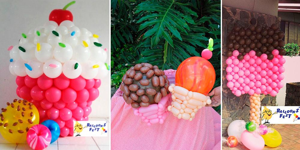 Decoração Balões Festa Confeitaria