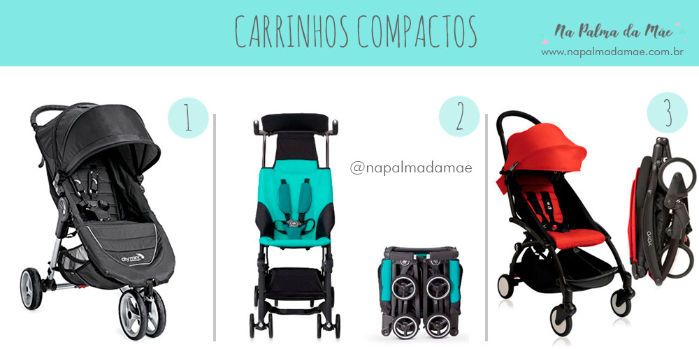 Carrinho de Bebê Compacto EUA