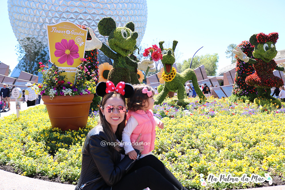 Disney com Crianças Até 3 Anos Epcot