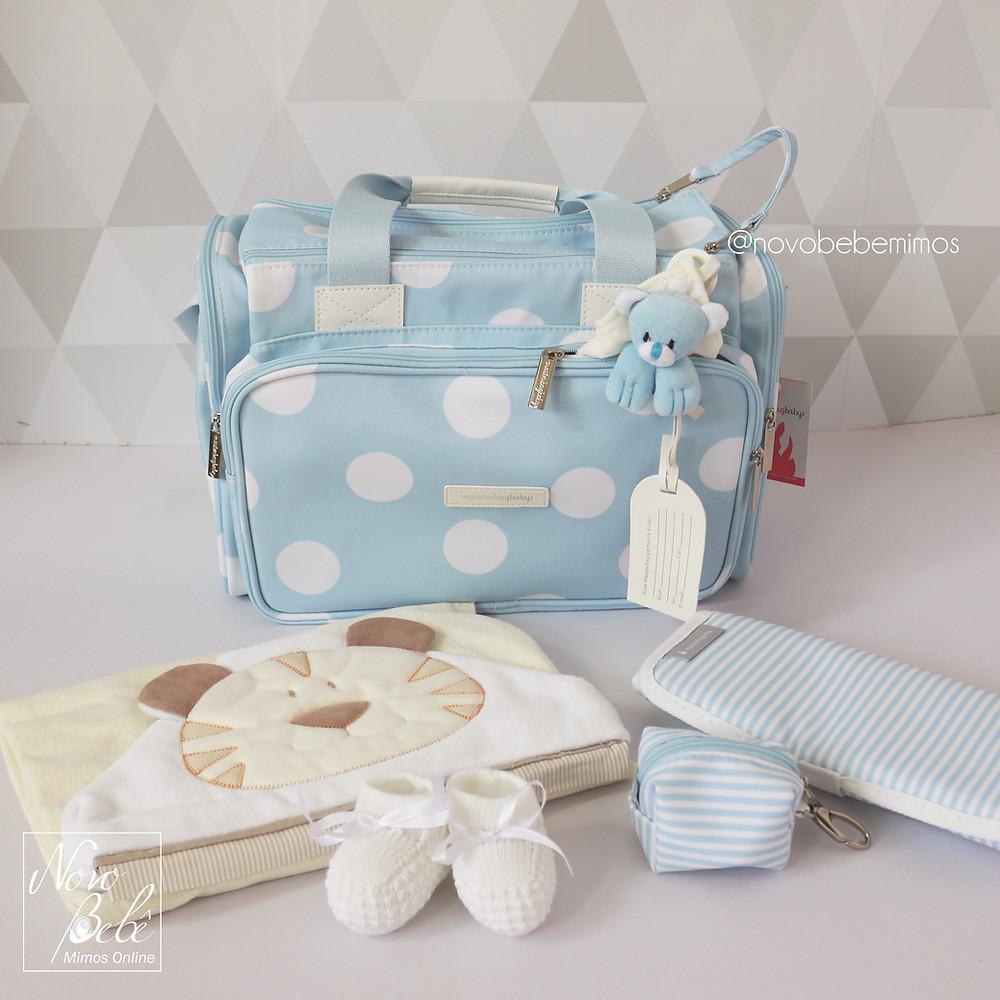 Bolsa Anne Bubbles Azul Masterbag Baby