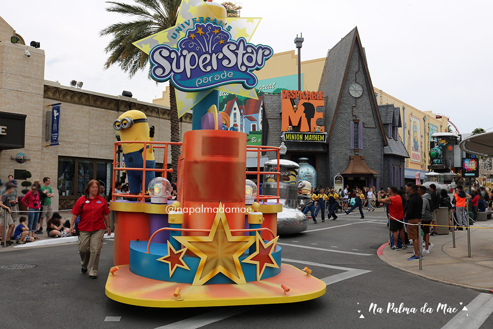 Disney com Bebês Universal Studios