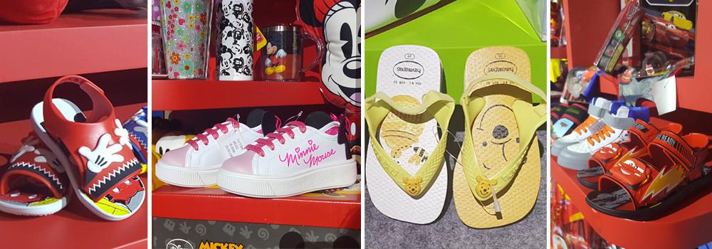 Calçados Mickey Minnie