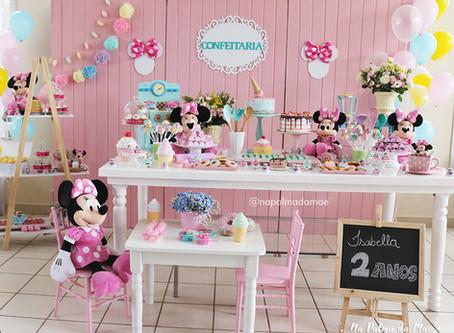 Festa 2 Anos Isabella - Confeitaria da Minnie