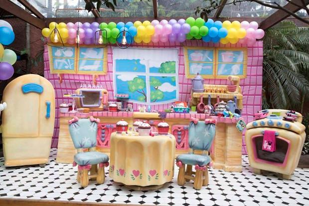 Decoração A Casa da Minnie Deborah Secco