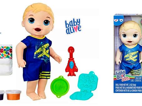 Hasbro Lança no Brasil Baby Alive Meu Primeiro Filho