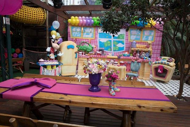 Festa A Casa da Minnie Maria Flor Deborah Secco