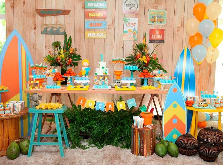 Festa Praia Tropical Folhagens