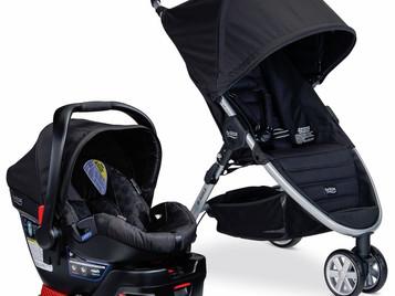 Carrinho e Bebê Conforto Britax B-Agile