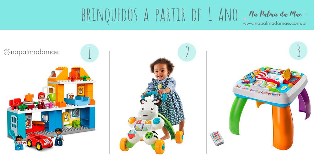 Brinquedos Para Crianças de 1 ano