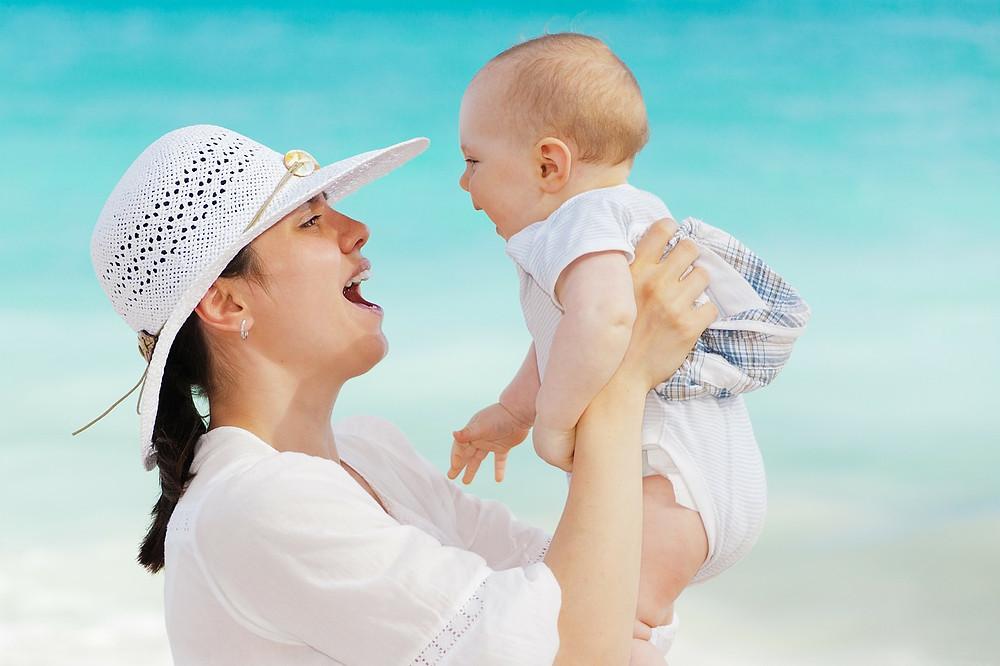 Assaduras do Bebê no Verão