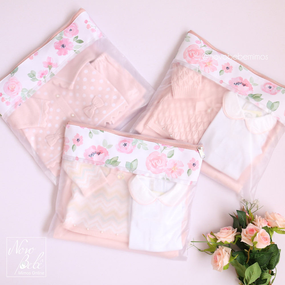 Saquinhos de Maternidade Flora Masterbag Baby