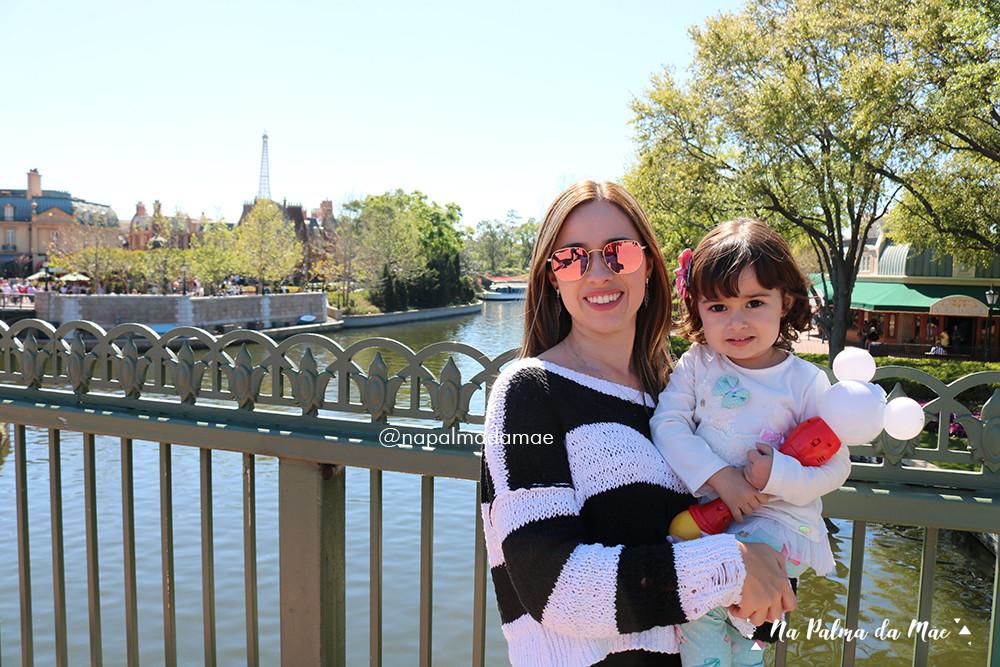 Disney Epcot com Bebês Dicas