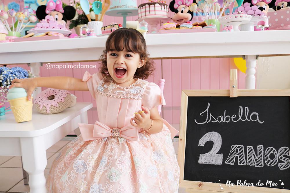 Vestido de Festa Petit Cherie Candy Colors