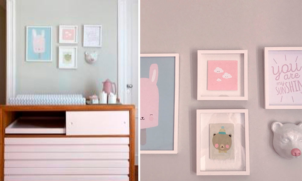 decoração quarto do bebê dos famosos eliana