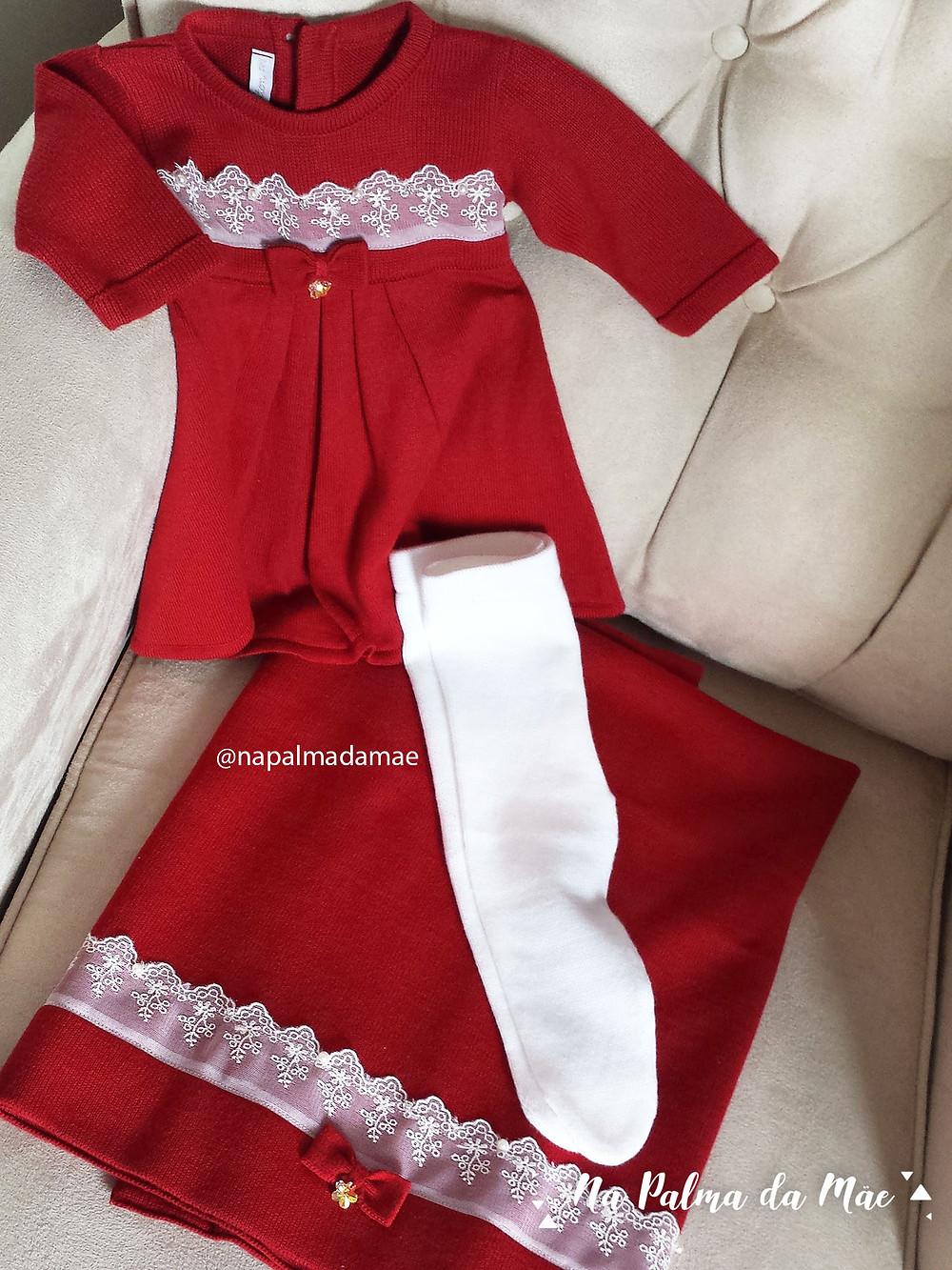 Lenda Saída de Maternidade Vermelha