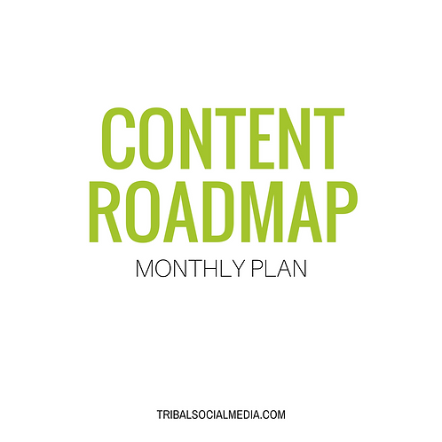 Monthly Content Roadmap