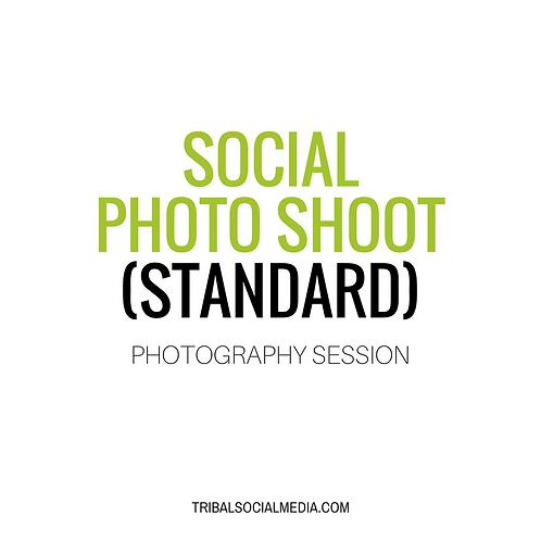 Social Media Photo Shoot (Standard)
