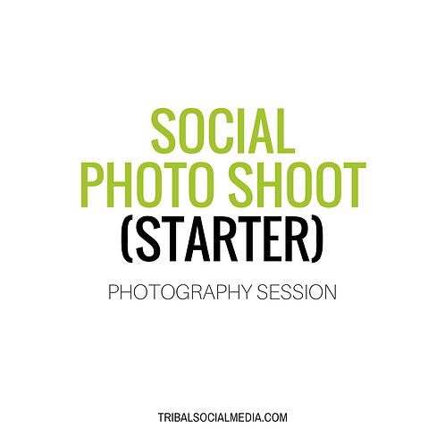 Social Media Photo Shoot (Starter)