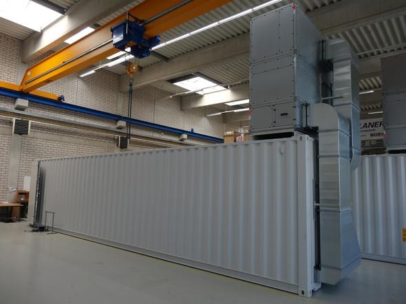 Planer Container bauweise Schaltraum