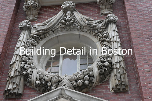 Building Detail in Boston