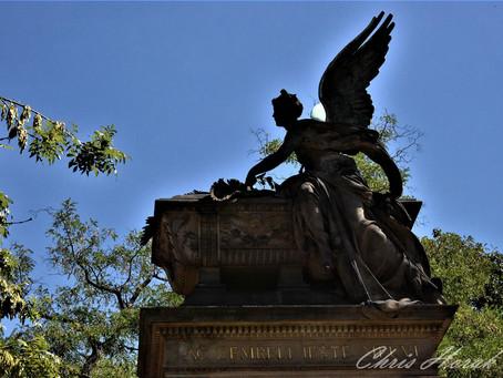 Prague, Angels - detailed carvings everywhere
