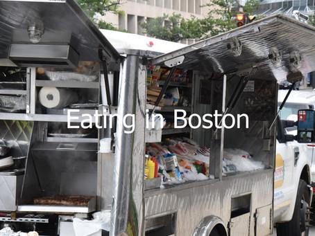 Eating in Boston