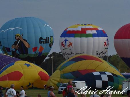 Hot Air Balloons in Foley, Alabama.