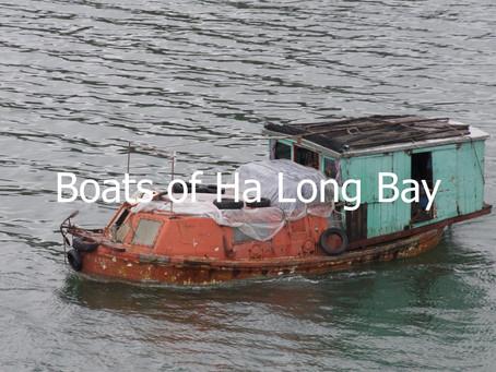 Boats of Ha Long Bay