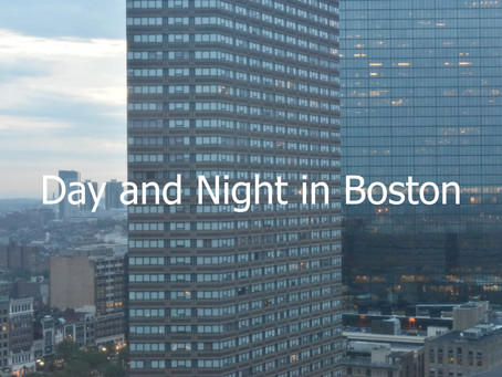 Day and Night in Boston