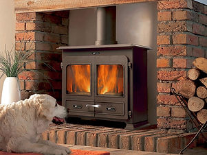 5. Portway 3 Traditional Multifuel Stove