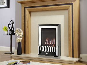 2. Verine Elypse Balanced Flue Gas Fire.