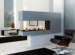 Lucius 140 gas fire